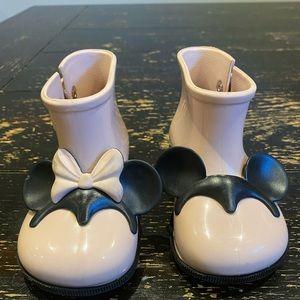 Mini Mellissa/Minnie/Mickey Mouse/Pink/Booties